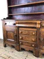 Antique 19th Century Oak Dresser (9 of 16)