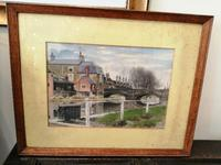 Framed Watercolour by John Wacey Hart (5 of 5)