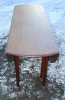 1900s Mahogany Wakes Table with Pad Feet (2 of 5)