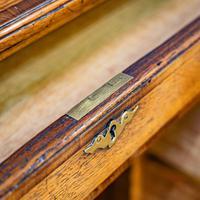Oak Knee-hole Desk (5 of 9)