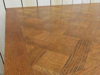 Os De Mouton Oak Extending Dining Table (7 of 11)