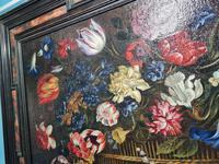 18th Century Flemish Painting, Oil on Panel (6 of 10)