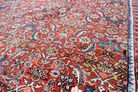 Antique Heriz Carpet 383x311cm (5 of 5)