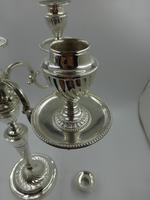 Antique Victorian Silver Candelabra. Sheffield 1894. (13 of 14)