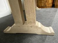 Large Bleached Oak French Farmhouse Dining Table (15 of 23)