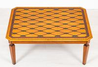 Satinwood Inlaid Coffee Table (3 of 6)