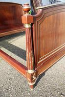 French Mahogany Bedstead (5 of 9)