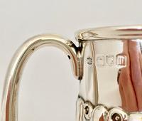 Stylish Sterling Silver Christening Mug. London 1907 (3 of 5)