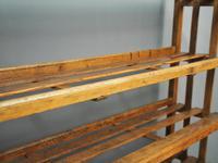 Victorian Industrial Pine Deed Rack / Wool Rack (9 of 10)