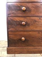 Victorian Mahogany Chest of Drawers (4 of 16)
