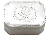 Sterling Silver Nutmeg Grater - Antique George III 1792 (7 of 9)