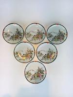 Beautiful Hand Painted Japanese Eggshell Porcelain Tea Set c1905 (6 of 17)