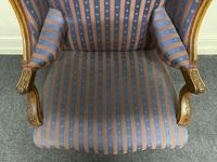 Comfortable French Wing Armchair (5 of 15)