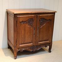 Vintage French Oak Side Cabinet (7 of 8)