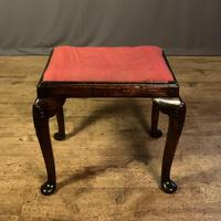 Early 18th Century Fruitwood Stool (3 of 11)