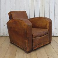 1930s French Leather Club Chair (13 of 13)