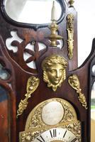 Very Rare English Fusee 5 Inch Dial Wall Clock Mahogany Gothic Ormolu Wall Clock by James Parker Cambridge (12 of 12)