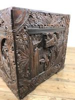 Carved Oriental Camphorwood Chest or Trunk (12 of 13)