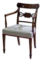 A Pair of Geo III Mahogany Elbow Chairs (4 of 8)