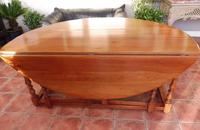 Fruitwood Wake Table extends 6 foot 1920s (6 of 10)