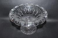 Heavy Victorian Glass Fruit Bowl (5 of 5)
