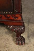 Hand Dyed Chestnut Leather & Mahogany Club Suite (19 of 19)