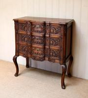 French Oak Chest of Drawers (3 of 10)