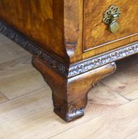 Antique Burr Walnut Partners Desk (16 of 18)
