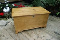 Restored Pine Blanket Box / Chest / Trunk / Coffee Table (2 of 8)