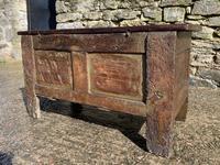 Small 17th Century Devon Oak Coffer (19 of 21)