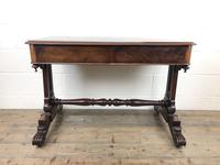 Antique William IV Mahogany Side Table (4 of 16)
