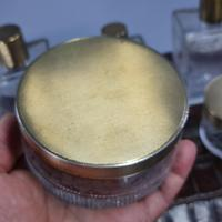 Exceptional Asprey HM Silver Gilt Fittings in Leather Case c.1935 (22 of 27)
