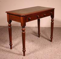 Small Mahogany Writing Table 19th Century England