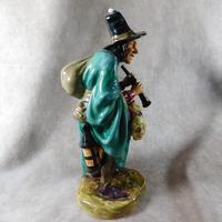 "Royal Doulton ""The Mask Seller"" HN2103 Figurine (7 of 9)"