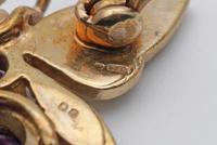 Vintage Gold Amethyst & Seed Pearl Novelty Brooch (5 of 5)