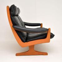 1970's Vintage Teak & Leather Sofa by Soda Galvano (3 of 10)