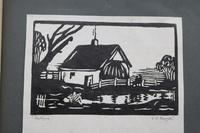 Album of 10 Woodblock Prints by Geoffrey Robert Russell (3 of 12)