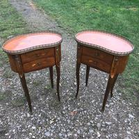 Pair of Inlaid Bedside Cabinets (2 of 8)
