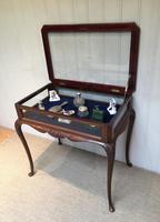 Edwardian Mahogany Bijouterie Table (2 of 10)