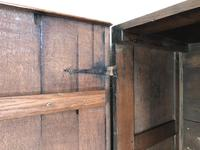 18th Century Welsh Oak Coffer with Panel Front (17 of 19)