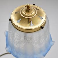 Brass & Glass Table Lamp (6 of 6)