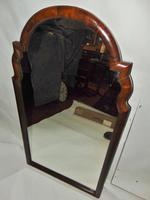 Fine Queen Anne Walnut Framed Mirror (5 of 7)