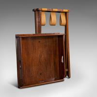 Antique Butler's Stand, English, Mahogany, Serving Tray, Rest, Victorian c.1900 (12 of 12)