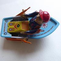 Vintage Tin Plate Wind Up  Boat (7 of 10)