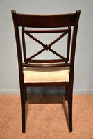 Elegant Single Regency Period Mahogany Side Chair (7 of 7)