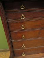 Antique Victorian Collectors Chest Cabinet on Stand, Lockable (6 of 17)
