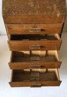 Counter Top Haberdashery Cabinet Abel Morrall's Flora Macdonald Needles c.1930 (7 of 9)