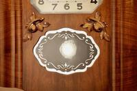 Westminster Girod Carillon Walnut, Rosewood Wall Clock French c.1940 (3 of 8)