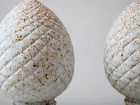 Patinated Cast Iron Pine Cone Finials (4 of 4)