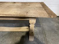 Large French Oak Rustic Farmhouse Dining Table (15 of 20)